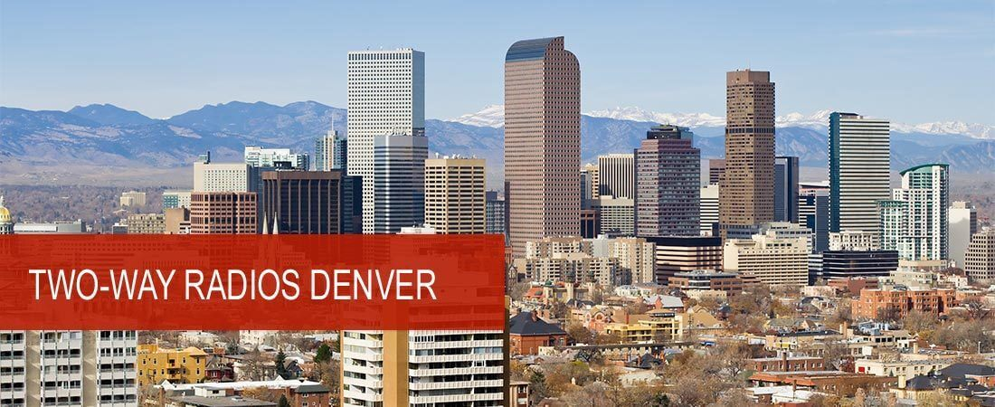 Denver's Leading Motorola Two-way Radio Dealer