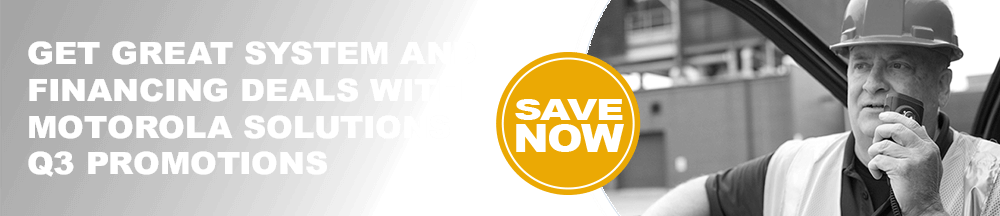 Motorola Two-way Radio Promotions Denver
